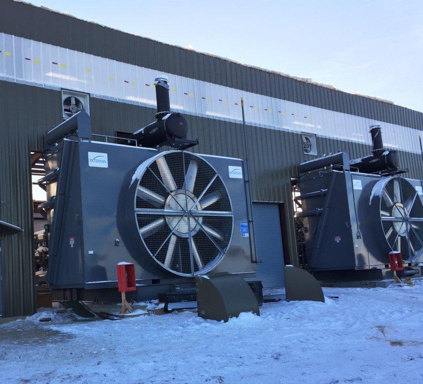 40 MMscfd Compressor Station